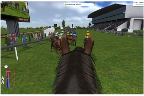 Jockey Rush game