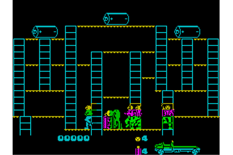 Bear Bovver Screenshots for ZX Spectrum - MobyGames