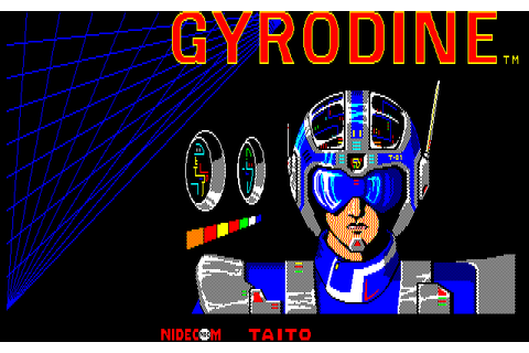 Download Gyrodine (PC-88) - My Abandonware
