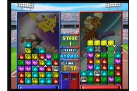 Pokemon Puzzle League (Wii Virtual Console) - YouTube