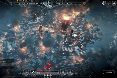 Frostpunk is a game about suffering on an industrial scale ...