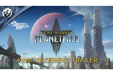Age of Wonders: Planetfall - Announcement trailer - YouTube