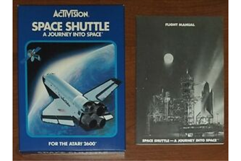 Space Shuttle: A Journey Into Space (Atari 2600) Box and ...