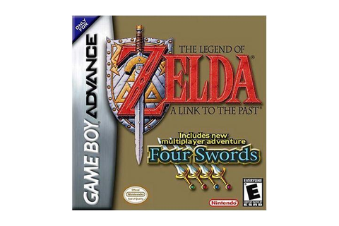The Legend of Zelda: A Link to the Past GameBoy Advance ...