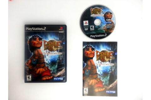 Brave The Search for Spirit Dancer game for Playstation 2 ...