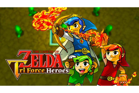 Tomorrow's The Legend of Zelda: Tri Force Heroes Update ...
