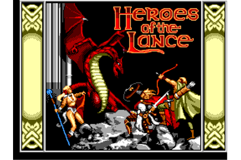 Play Heroes of the Lance Sega Master System online | Play ...