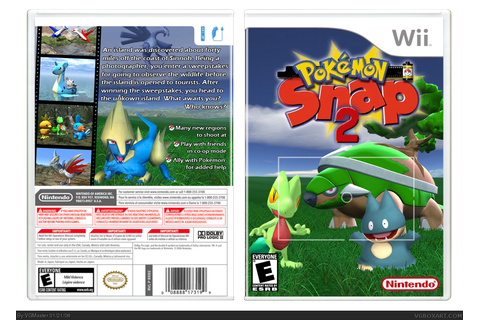 Pokemon Snap 2 Wii Box Art Cover by VGMaster