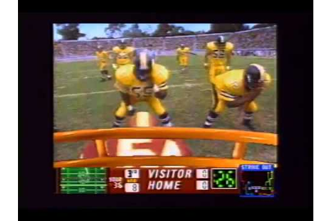 Quarterback Attack: With Mike Ditka Trailer 1995 - YouTube