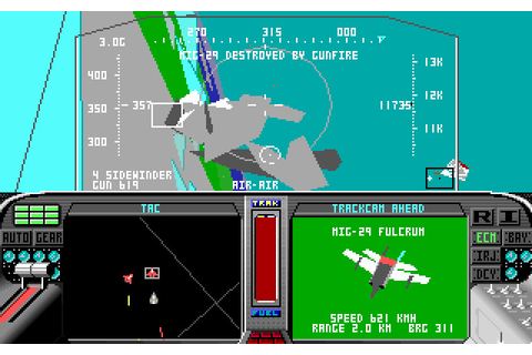 Скриншоты F-19 Stealth Fighter на Old-Games.RU