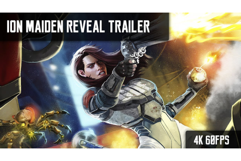 Ion Maiden Announcement Trailer - YouTube