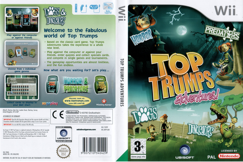 RTPP41 - Top Trumps Adventures