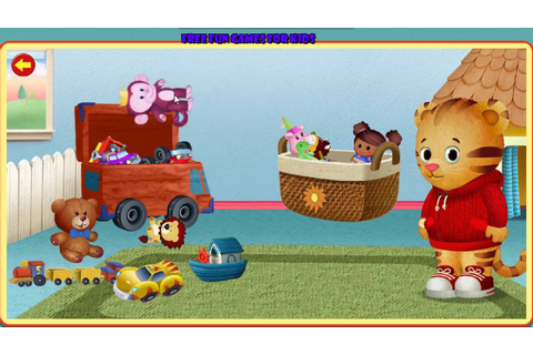 Daniel Tiger's Neighborhood Classroom Helpers Game - YouTube