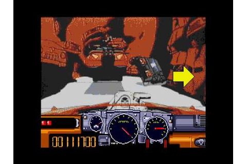 Road Avenger - Sega Mega CD / Sega CD playthrough - YouTube