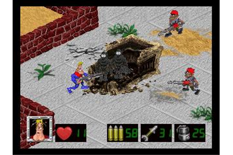 Captain Quazar Download (1997 Arcade action Game)
