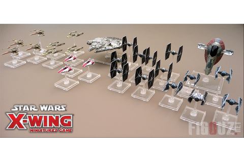 Star Wars X-Wing Miniatures Game - Le jeu de combat ...