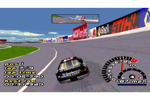 NASCAR 2000 Gameplay Championship Single Race (PS1,PSX ...