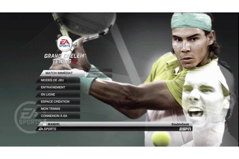 Test de Grand Chelem Tennis 2 sur PS3 - YouTube