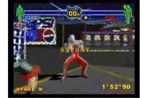 Fighting Vipers Pepsiman - YouTube