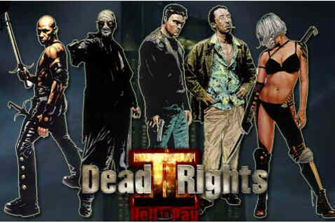 Dead to Rights 2: Hell to Pay [PS2 / XBOX - Beta] - Unseen64