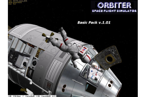 Realistic space flight simulation game for the Windows PC ...