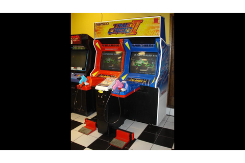 Time Crisis II Arcade Machine Game - YouTube