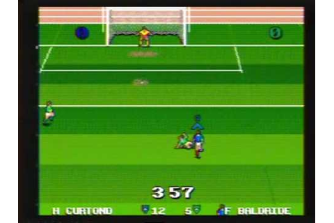 Ultimate Soccer Genesis / Mega Drive 2 player game play ...