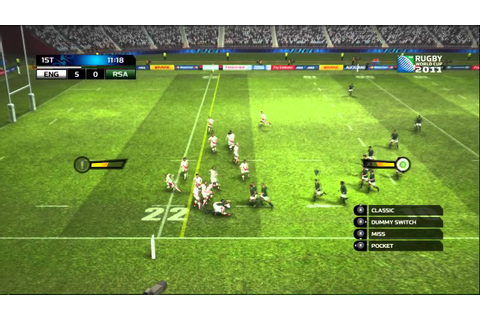 Rugby World Cup 2011 Game (DEMO) - Gameplay - YouTube