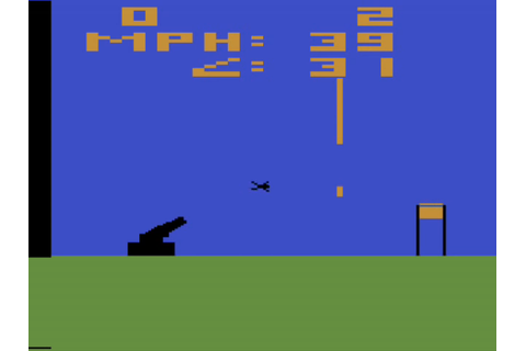 Human Cannonball (Atari 2600) - The Game Hoard