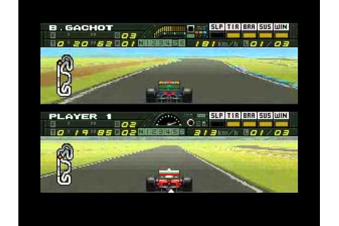 F1 Pole Position SNES - YouTube
