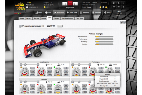 Motorsports Manager - Online motorsport manager game
