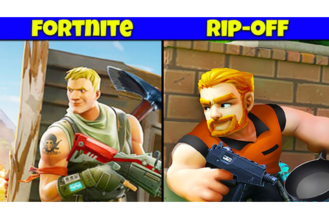 10 Worst Fortnite RIP-OFF Video Games Ever Made | Chaos ...