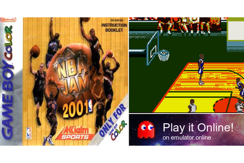 Play NBA Jam 2001 on Game Boy