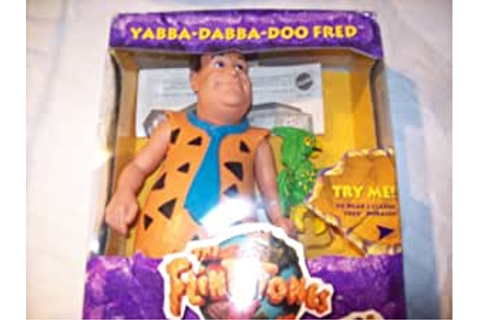 Amazon.com: Yabba-Dabba-Doo Fred by Flintstones: Toys & Games