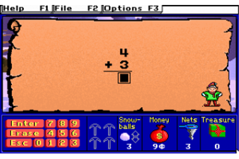 Serious Game Classification : Treasure Mathstorm! (1992 ...