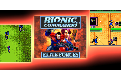 Bionic Commando™: Elite Forces | Game Boy Color | Spiele ...