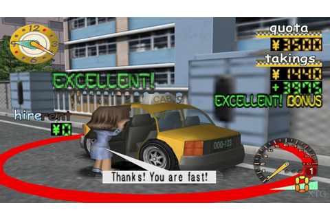 Taxi Rider PS2 Gameplay HD (PCSX2) - YouTube