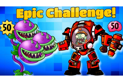 Plants vs Zombies Heroes Epic Battle in PvZ Heroes Primal ...