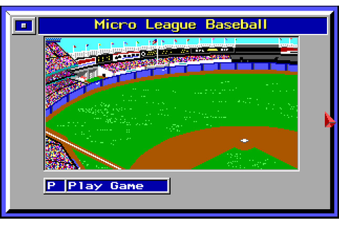 MicroLeague Baseball | ClassicReload.com