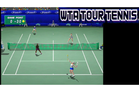 WTA Tour Tennis ... (PS2) - YouTube