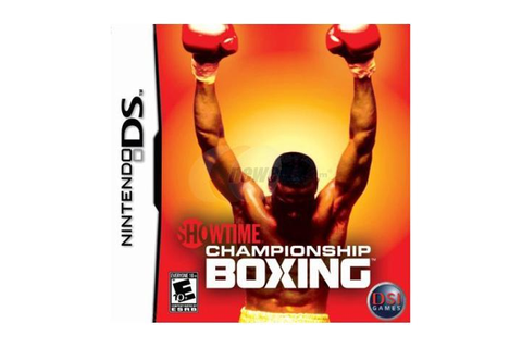 Showtime Championship Boxing Nintendo DS Game - Newegg.com