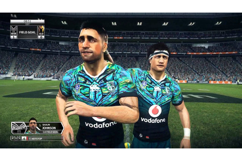 Rugby League Live 3: BE A PRO NRL 2017 Auckland Nines Game ...