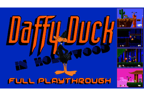 Daffy Duck in Hollywood - Mega Drive / Genesis ...