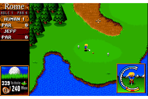 Download Sensible Golf sports for DOS (1994) - Abandonware DOS