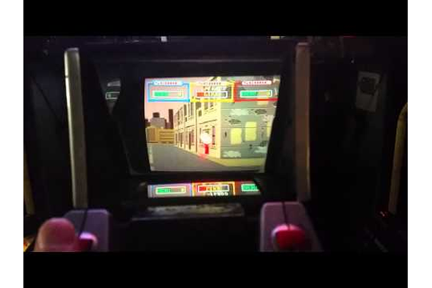 Laser Ghost - Sega Arcade game - Level 1 - YouTube
