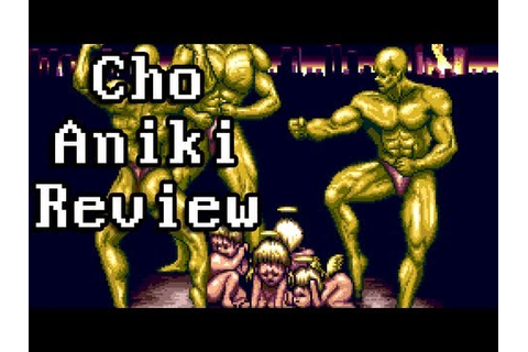 LGR - Cho Aniki - PC Engine CD Game Review - YouTube