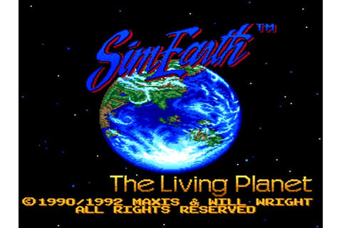 SimEarth: The Living Planet Details - LaunchBox Games Database