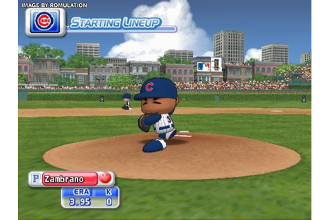 MLB Power Pros 2008 (USA) Nintendo Wii ISO Download ...