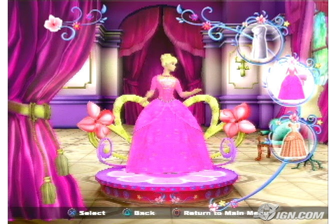 Dream Games: Barbie as The Island Princess
