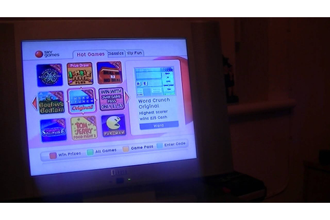 Early Sky Plus Box in 2013 - some of the games in ...